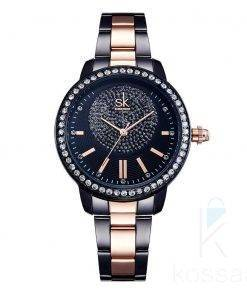 Women's Rhinestone Decor Quartz Wristwatches Watches