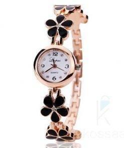 Women's Floral Bracelet Watch Watches