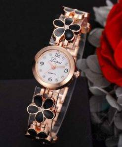 Women's Floral Bracelet Watch Watches