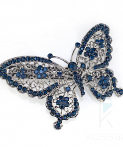 Shiny Rhinestones Butterfly Headwear Barrette Hair Accessories