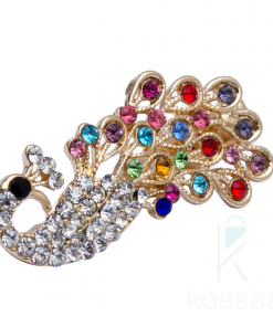 Women's Shiny Rhinestones Peacock Hairpin Hair Accessories