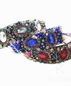 Luxurious Baroque Style Headband with Rhinestones Hair Accessories