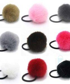 Women's Fur Elastic Hair Bands Hair Accessories