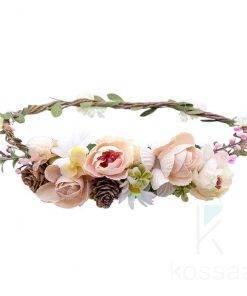Women`s Wedding Flower Wreath Hair Accessories
