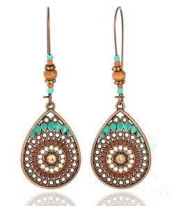 Boho Style Hollow Women's Drop Earrings Boho