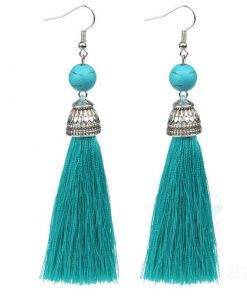 Boho Tassel Drop Earrings for Women Boho