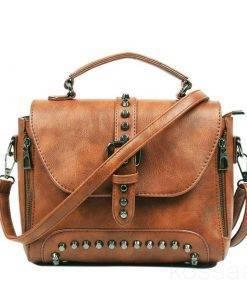 Women's Vintage Leather Shoulder Bag Bags