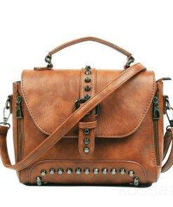Women's Vintage Leather Shoulder Bag Bags