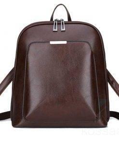Vintage Women's Genuine Leather Backpack Bags
