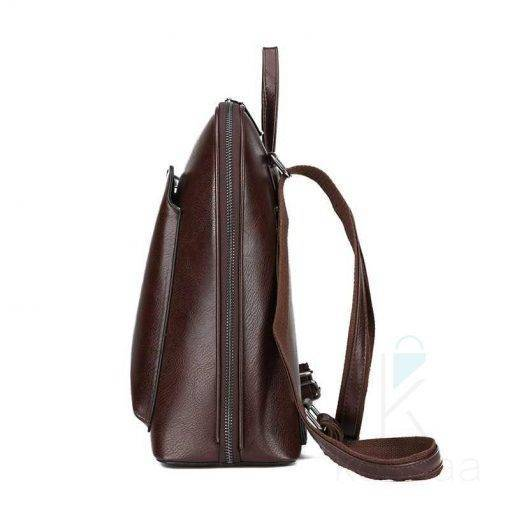 Vintage Women's Genuine Leather Backpack Bags