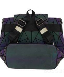 Women's Geometry Pattern Luminous Backpacks Bags