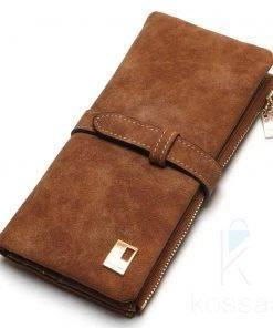 Women's Nubuck Leather Wallet Wallets
