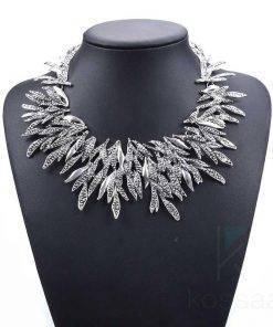 Women's Snow Queen Crystal Necklace Necklace