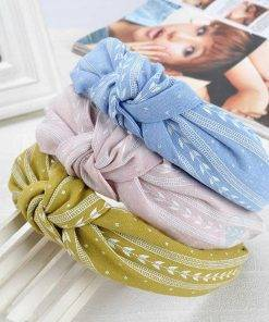 Boho Printed Headband for Women Hair Accessories