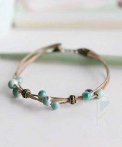 Boho Ceramic Beads Bracelet Bracelets
