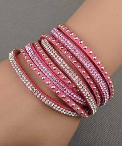 Cute Woman`s Multilayer Wrap Bracelet Bracelets Bracelets