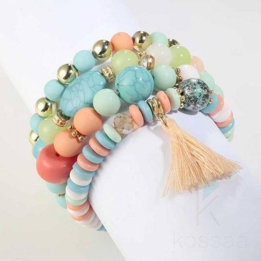 Bohemian Women's Multilayer Beads Bracelet Bracelets