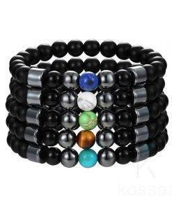 Chakra Charm Beaded Bracelet Bracelets