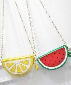 Women's Yummy Fruits Messenger Bag Bags