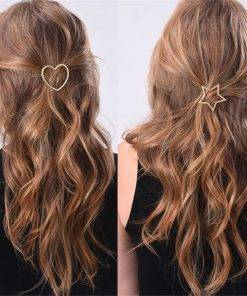 Fashion Creatively Designed Geometric Metal Hairpin Hair Accessories