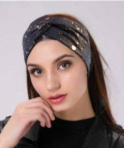 Women's Crystal Drops Wide Headband Hair Accessories