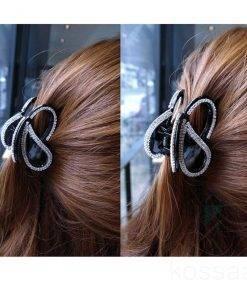 Women's Rhinestone Butterfly Hair Claws Hair Accessories