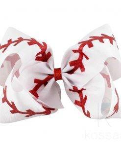 High-Quality Hair Bow with Shiny Stripes Hair Accessories