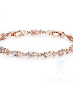 Luxury Plant Pattern Bracelet for Women Bracelets