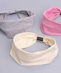 Casual Korean Style Cotton Women's Headband Hair Accessories