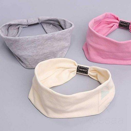 Casual Korean Style Cotton Women's Headband Hair Accessories