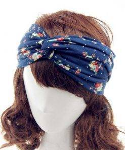 Floral Patterned Women's Headband Hair Accessories