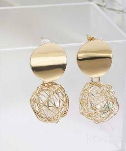 Luxury Gold Drop Earrings for Women Earrings