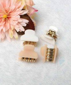 Women's Acrylic Mini Hair Claws Set Hair Accessories