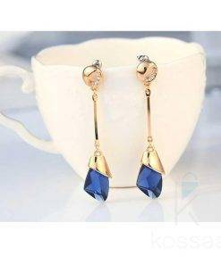 Women's Drop Crystal Earrings Earrings