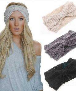 Women's Knitted Winter Hairband Hair Accessories