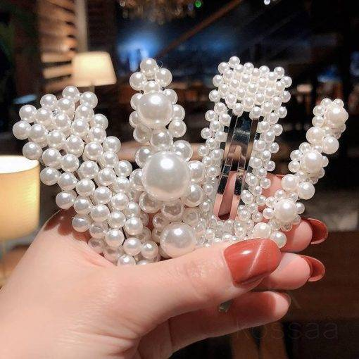 Fashion Pearls Hairclips for Women Hair Accessories