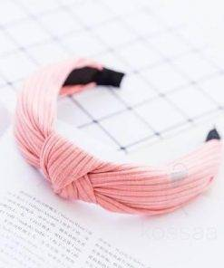 Knitted Women's Hair Band with Knot Hair Accessories