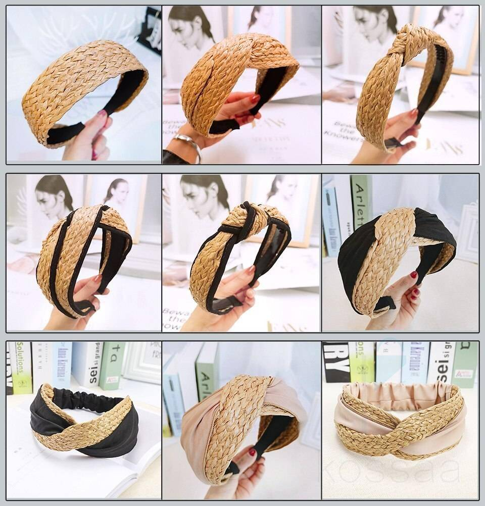 Women's Bohemian Straw Headband