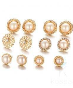 Women's Elegant Stud Earrings Set Earrings