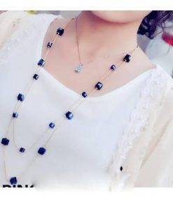 Women's Stylish Geometric Layered Necklace Necklace