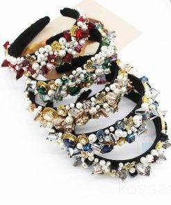 Artistic Pearls Hairband for Women Hair Accessories
