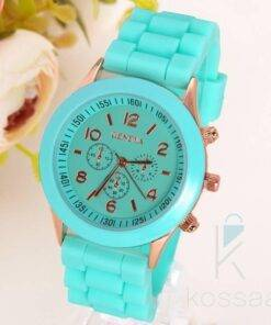 Classic Silicone Women's Watches Jewelry Watches