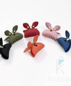 Small Colorful Acrylic Hair Claw Hair Accessories Hair Pins