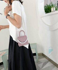 Women's Pearl Strap Mini Shoulder Bag Bags & Wallets Everyday Bags