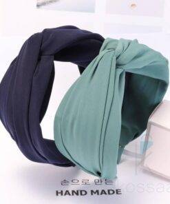 Women's Solid Color Turban Hair Accessories Head Bands